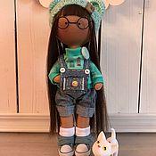 Куклы и игрушки ручной работы. Ярмарка Мастеров - ручная работа Текстильная интерьерная кукла Вики. Handmade.