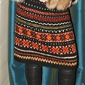 """Одежда ручной работы. Ярмарка Мастеров - ручная работа Эксклюзивная юбка ручной работы """"Рыжий снегопад"""". Handmade."""