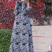 Одежда handmade. Livemaster - original item Long cotton dress, Fashion fancy dress. Handmade.