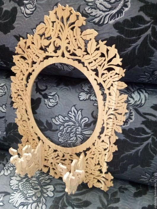 Зеркала ручной работы. Ярмарка Мастеров - ручная работа. Купить Рама для зеркала с подсвечниками. Handmade. Комбинированный, рамка, рама для зеркала