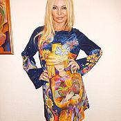 платье-Золотой петушок