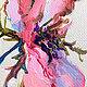 """Картины цветов ручной работы. Заказать Картина """"Дикая Роза"""" (холст, масло). ЯРКИЕ КАРТИНЫ Наталии Ширяевой. Ярмарка Мастеров."""