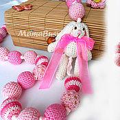 """Одежда ручной работы. Ярмарка Мастеров - ручная работа Слингобусы """"Розовый кролик"""". Handmade."""