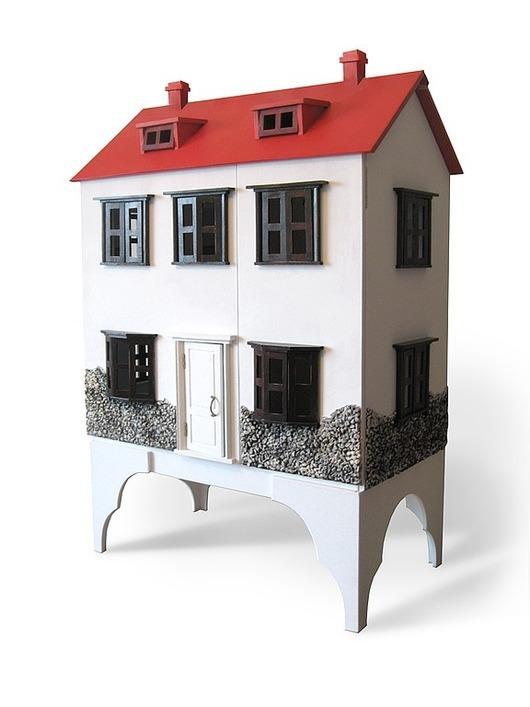 Кукольный дом ручной работы. Ярмарка Мастеров - ручная работа. Купить Голландский домик. Handmade. Кукольный дом, кукольный домик