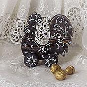 Подарки к праздникам handmade. Livemaster - original item Christmas eco Cockerel