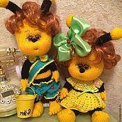 """Куклы и игрушки ручной работы. Ярмарка Мастеров - ручная работа Куклы """"Пчелиная пара"""". Handmade."""