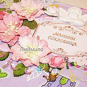 Подарки к праздникам ручной работы. Ярмарка Мастеров - ручная работа Мамины сокровища для девочки Роза. Handmade.