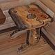Банные принадлежности ручной работы. мебель для бани. Дмитрий Залётов изделия из дерева. Ярмарка Мастеров. Стол, Шкафчик
