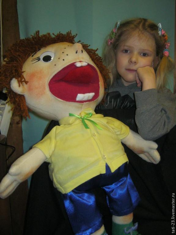 Кукла логопедическая своими руками 24