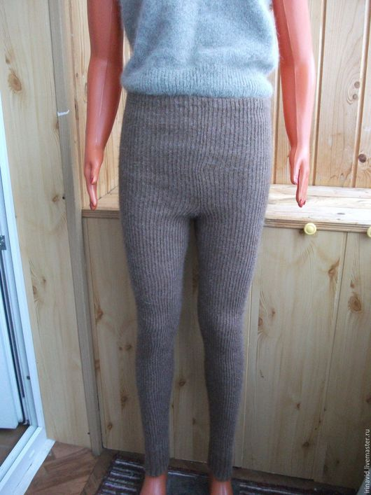 Брюки, шорты ручной работы. Ярмарка Мастеров - ручная работа. Купить Шорты ( панталоны) из собачьей шерсти. Handmade. Серый