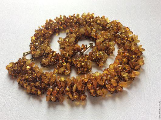 Колье из янтаря, украшение ручной работы, натуральные камни, ярмарка мастеров-ручная работа, украшение на шею, ожерелье из янтаря, золото янтаря, янтарное украшение, изделия из янтаря.