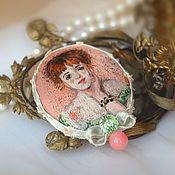 Украшения handmade. Livemaster - original item brooch Jeanne. Handmade.