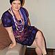 """Платья ручной работы. двухстороннее платье """" Две лилии"""". Виктория (ROMAnceVIKA). Ярмарка Мастеров. Валяное платье, женское платье"""