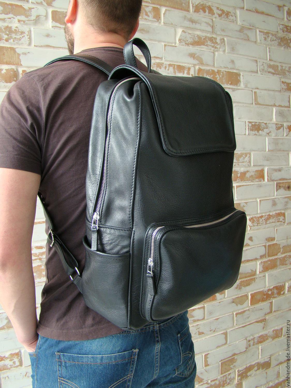 ed634380b28e Рюкзаки ручной работы. Ярмарка Мастеров - ручная работа. Купить Стильный и  качественый кожаный рюкзак ...