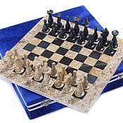 Активный отдых и развлечения handmade. Livemaster - original item Chess stone Marble and Shell 30, PakShah. Handmade.