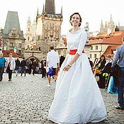 """Свадебный салон ручной работы. Ярмарка Мастеров - ручная работа Свадебное платье """"Прага"""". Handmade."""