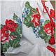 Блузка КВИТНЕВА Детская одежда Вышиванки Блуза с вышивкой Розы Туника Детская вышиванка Летняя блуза Детское платье Нарядная блузка Украинская вышиванка Летняя мода Творческое ателье Modne-Narodne.