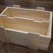 Ящики ручной работы. Ярмарка Мастеров - ручная работа Деревянный ящик. Handmade.