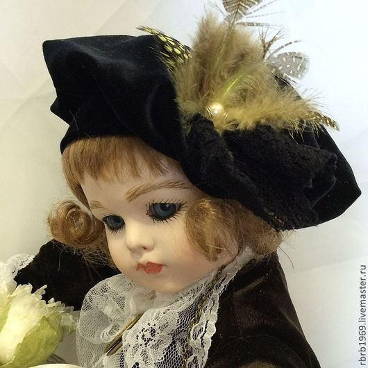 Куклы и игрушки ручной работы. Ярмарка Мастеров - ручная работа. Купить Лето,,.Франция...Любовь(реплика Брю). Handmade. Коричневый