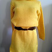 Одежда ручной работы. Ярмарка Мастеров - ручная работа Желтое платье. Handmade.