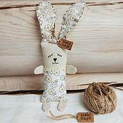Тильда Зверята ручной работы. Ярмарка Мастеров - ручная работа Зайка игрушка для сна. Handmade.