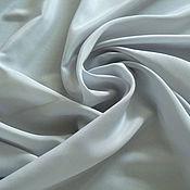 Материалы для творчества handmade. Livemaster - original item Italian silk in a pastel milky blue tones. Handmade.