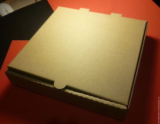 Упаковка ручной работы. Ярмарка Мастеров - ручная работа. Купить Коробка 26х26х4,5 см из гофрокартона. Handmade. Коробочка