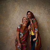 Одежда handmade. Livemaster - original item Two-piece knitted dresses