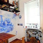 """Картины и панно ручной работы. Ярмарка Мастеров - ручная работа """"Dutch tavern"""", """"Голландская таверна"""". Handmade."""
