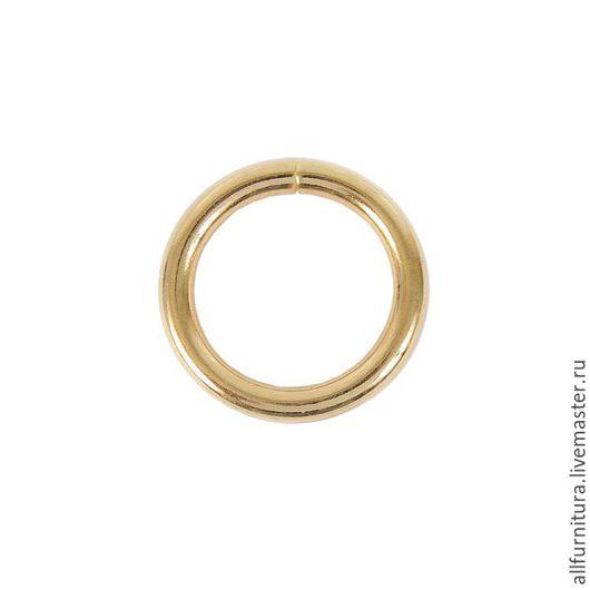 Шитье ручной работы. Ярмарка Мастеров - ручная работа. Купить Кольцо №16 разъемн светлое золото  4,8/24/33,6мм. Handmade.