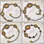 Материалы для творчества handmade. Livemaster - original item The basis for the bracelet 8-14mm. Art.OB22. Handmade.