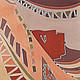 Шарфы и шарфики ручной работы. Ярмарка Мастеров - ручная работа. Купить Шарф Египетские мотивы. Handmade. Батик, шелковый палантин