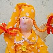 """Куклы и игрушки ручной работы. Ярмарка Мастеров - ручная работа Сплюшка """"Солнечные сны"""". Сонный ангел Тильда. Handmade."""