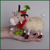 Куклы и игрушки ручной работы. Ярмарка Мастеров - ручная работа Коза. Handmade.