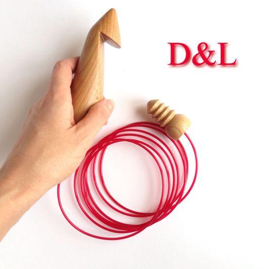 Вязание ручной работы. Ярмарка Мастеров - ручная работа. Купить Деревянный тунисский крючок для вязания 35, 40, 45 мм. Handmade.