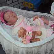 Куклы и игрушки ручной работы. Ярмарка Мастеров - ручная работа Кукла Реборн Лелик. Handmade.