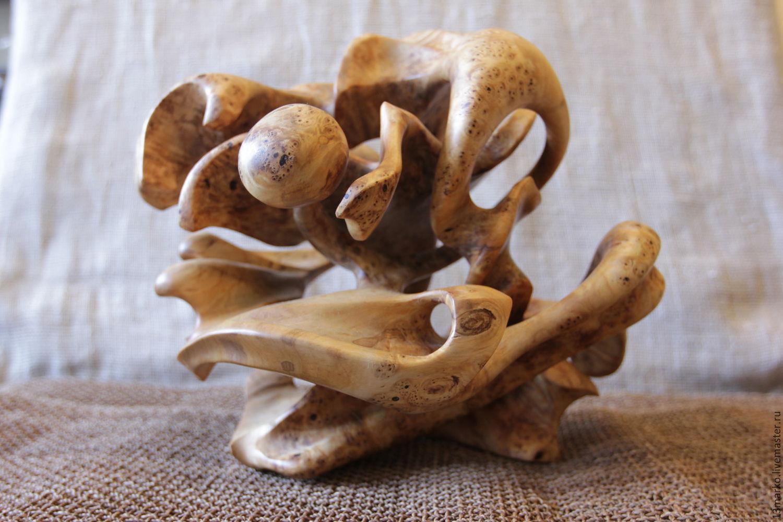 Для дома и интерьера Ярмарка Мастеров - ручная работа Купить Интерьерная ваза из капа березы Handmade