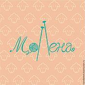 Дизайн и реклама ручной работы. Ярмарка Мастеров - ручная работа МоЛена логотип. Handmade.