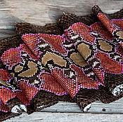 Материалы для творчества handmade. Livemaster - original item Genuine Python skin . Python skin .. Handmade.