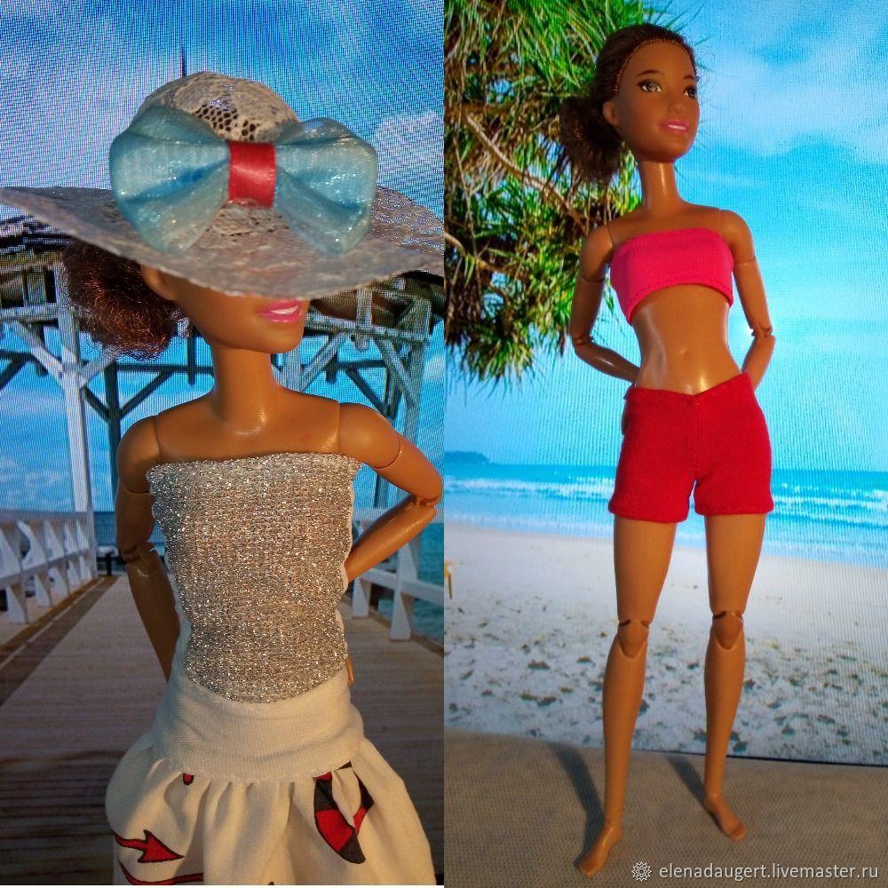 """комплект одежды для барби """"пляжный отдых"""", Одежда для кукол, Саратов,  Фото №1"""