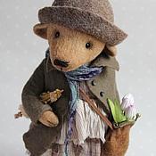 Куклы и игрушки ручной работы. Ярмарка Мастеров - ручная работа Мишка-тедди Иветта. Handmade.