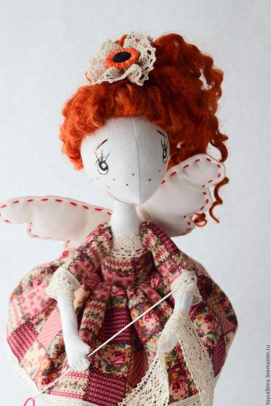 Коллекционные куклы ручной работы. Ярмарка Мастеров - ручная работа. Купить Швейка. Handmade. Рыжий, интерьерная кукла, синтепон