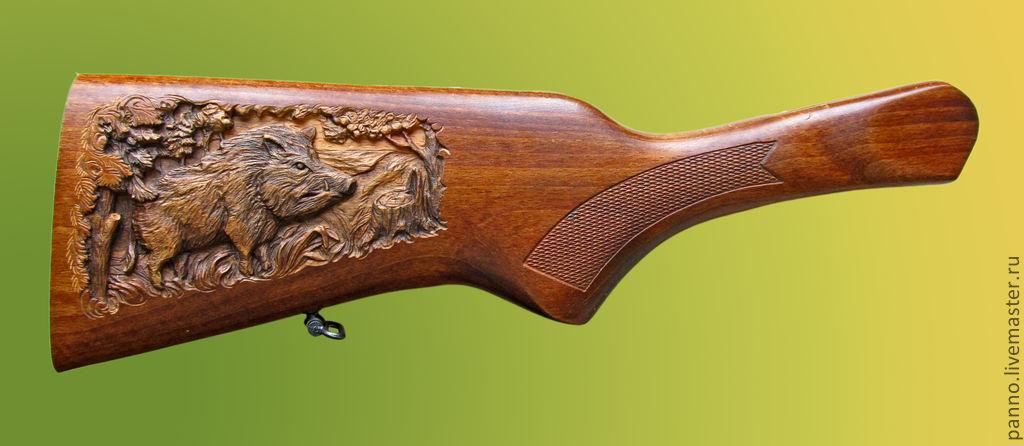 Приклад на охотничье ружье