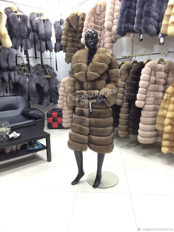 Fur coat from Arctic Fox, Fur Coats, Pyatigorsk,  Фото №1