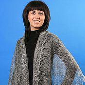 Аксессуары handmade. Livemaster - original item 14 Silver downy tippet scarf, accessories. Handmade.
