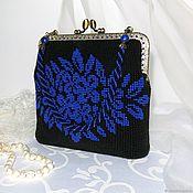 Сумки и аксессуары handmade. Livemaster - original item Bag with clasp: Evening bag beaded Theater. Handmade.