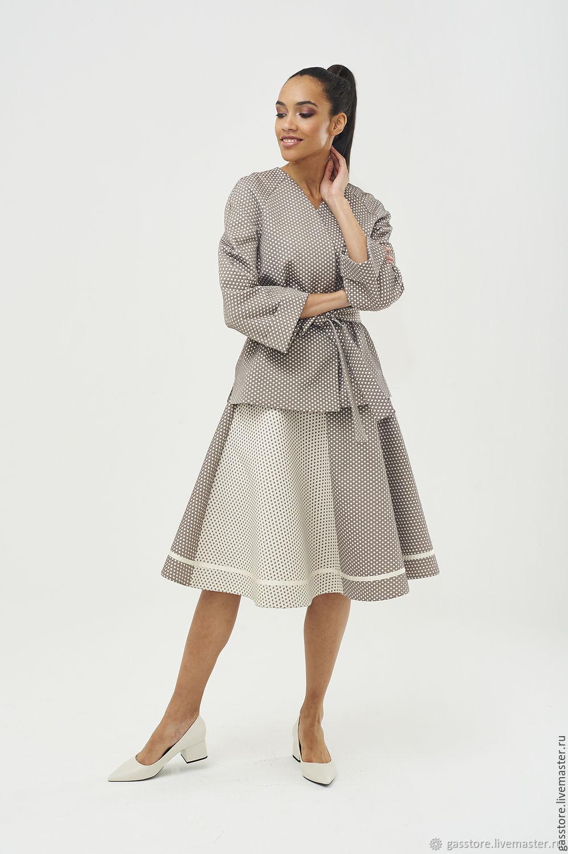 49fc2596718 Купить Жакет  Royal fox  Юбки ручной работы. Жакет  Royal fox  Королевская  Лиса. Design by George A. S. ...