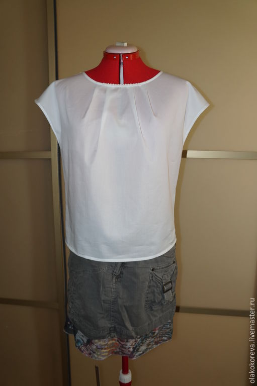 Шитьё блузку