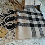 handmade. Livemaster - original item Scarves: Hand-woven cashmere scarf. Handmade.
