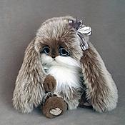 Куклы и игрушки ручной работы. Ярмарка Мастеров - ручная работа зайка Черный Жемчуг. Handmade.